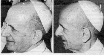+¿PORQUÉ AFIRMABA EL Papa PABLO VI que SATANÁS se había introducido en la IGLESIA?+ Impostor1b