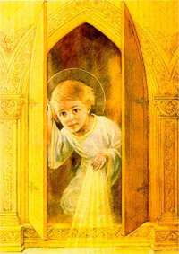 Image result for eucharist glowing