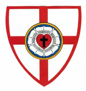 lutheran catholic anglo church shield knight lutherans june seal alcc anglican crosses tiber joins roman days last these ordinariate