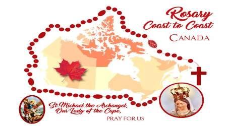 Le Canada organise un Rosaire «D'un océan à l'autre» -  Dimanche le 7 octobre 2018 pour la vie, et la famille et la Foi  Canada-rosary-coast-to-coast