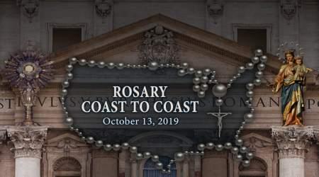 Octobre le mois du Rosaire - Un effort spécial dans la terrible lutte spirituelle contre les forces antichrétiennes Rosary-coast-to-coast-2019