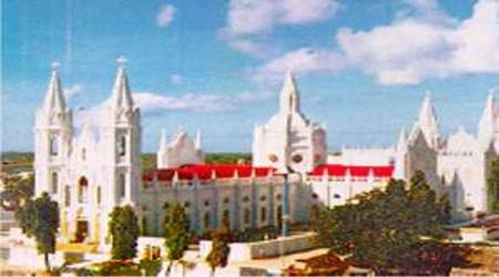 Our Lady of Good Health in Vailankanni, India