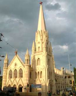 St. Thomas Cathedral in Santhome, India