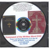 Command to the Written Word DVD