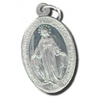 Miraculous Medal - 1inch Aluminum