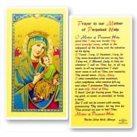 Perpetual Help Holy Card