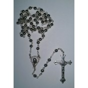 Silver Plated Rosary